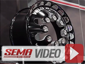 SEMA 2013: Rolling In Style With Weld Racing's Dually Wheels
