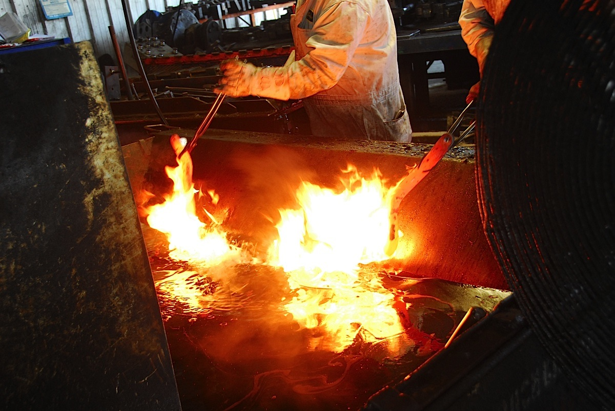 VIDEO: Hellwig's Fiery Facilities Provide A Thrilling Factory Tour
