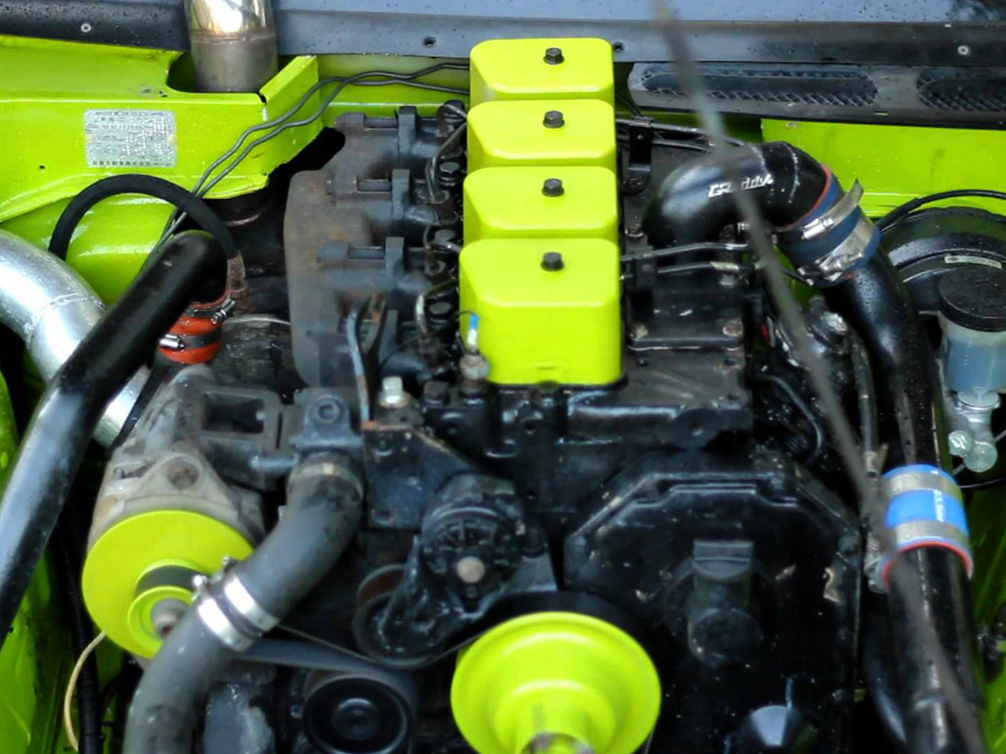Video: Cummins Powered Nissan 240SX! Yes, That Is Not A Typo