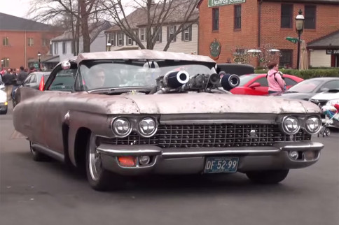 Update And New Video: Not Your Daddy's Caddy, '60 Cummins Cadillac
