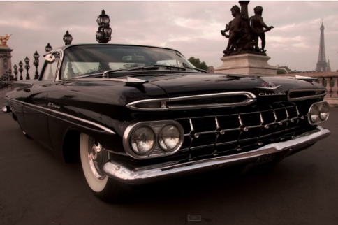 Video: Chopped And Dropped '59 El Camino Paris Style