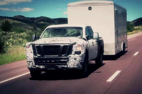 Nissan Drops A Video Talking About The New Titan With A Cummins