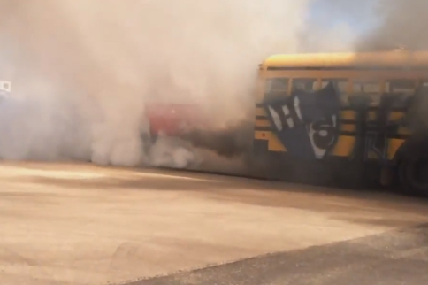 Video: Smoke Flying, Rubber Burning And Engines Puking!