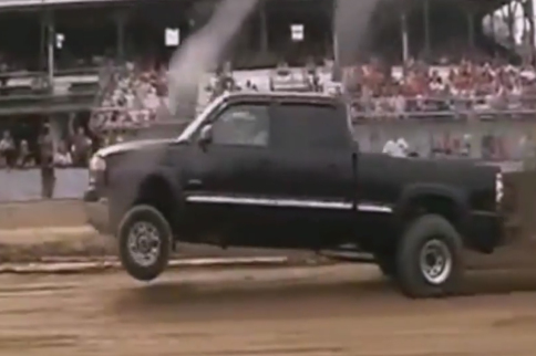 Video: Duramax Power On Display, Popping Wheelies Down The Track