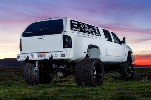 Built To Grab Your Attention, Chevrolet 3500 Lifted Dually