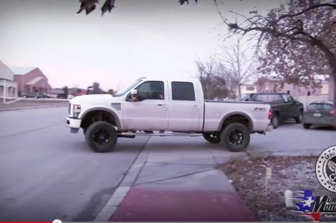 Video: Burnout! Check Out This Truck Lighting Them Up!
