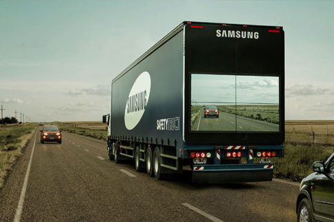 "The Samsung ""Safety Truck"" Is A See-Through Revelation"
