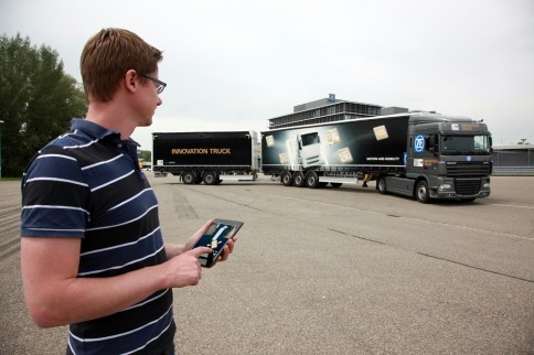 Video: ZF Lets Drivers Control Semi-Trucks With A Tablet