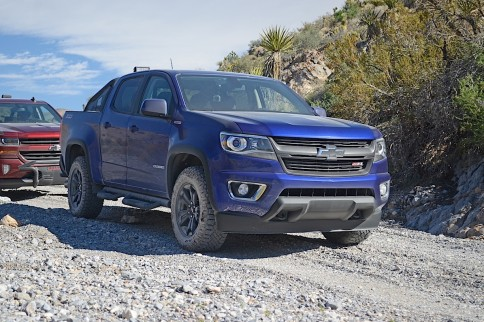 SEMA 2015: Hands-On With The 2016 Chevy Colorado Duramax Diesel