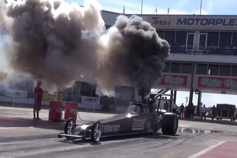 Video: Jerry Lagod's Diesel Dragster Tears Up The Track