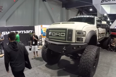 Video: This 700 Horsepower 6X6 Ford F-350 Is Ready For Fury Road