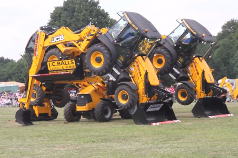 Video: Tractor Dancing Takes Sync'd Routines To An Unlikely Extreme