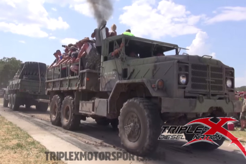 Video: Big, Bad Trucks Go At It In This Tug-O-War Contest