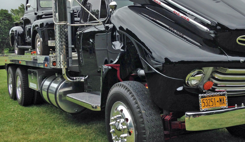 New York Truck Show Brings Out Some Big Hitters