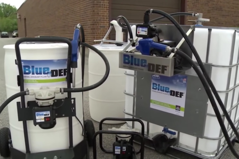 The Blue Stuff: The Ins And Outs Of Diesel Exhaust Fluid