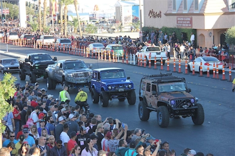 Rolling In To The Official SEMA After Party: SEMA Ignited