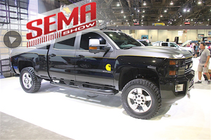 SEMA 2016: Chevrolet Goes BIG With Concept Trucks
