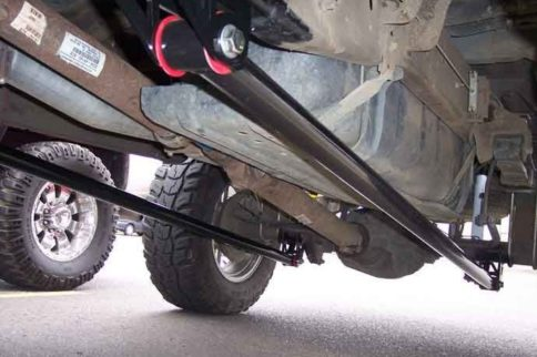 Traction Bars: A Necessity For Your Diesel To Prevent Axle Wrap
