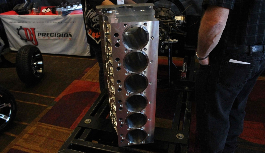 PRI 2017: D&J Precision Machine's New Billet Cummins Block